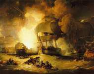 The Destruction of L'Orient at the Battle of the Nil