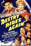Poster - Destry Rides Again