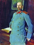 Portrait of the commandant of the Mariinsky Palace, Major-General Pavel Shevelev