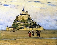 Mont-Saint-Michel, Morning
