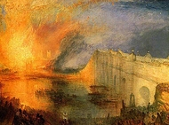 The Burning of the Houses of Parliament