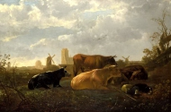 Aelbert Cuyp - The Small Dort