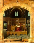 Antonello da Messina - Saint Jerome in his Study