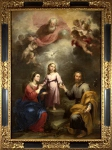Bartolome Esteban Murillo - The Heavenly and Earthly Trinities