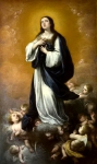 Bartolome Esteban Murillo and studio - The Immaculate Conception of the Virgin