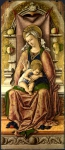 Carlo Crivelli - The Virgin and Child