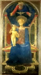 Domenico Veneziano - The Virgin and Child Enthroned