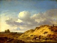 Jan Wijnants - Peasants driving Cattle and Sheep
