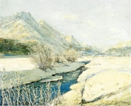 Valley Stream в снегу