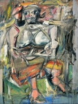 Willem de Kooning - Woman, I