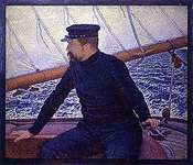 Paul Signac at the Helm of Olympia