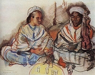Musicians (Arab and Negro)