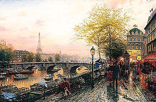 мосты на картинах художников