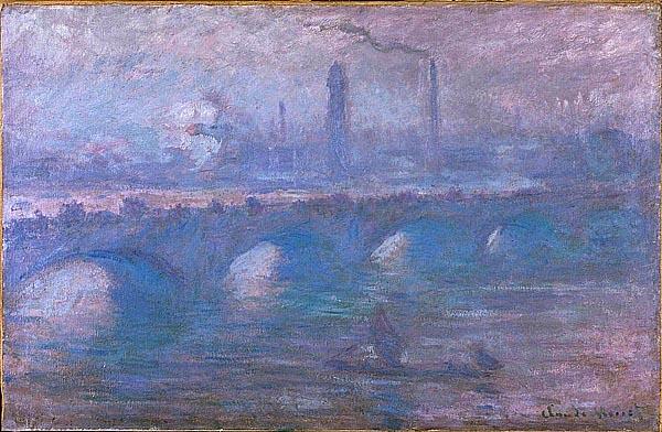 мосты на картина художников